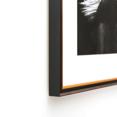 Providence Classic Black and Gold Custom Frame | Framebridge