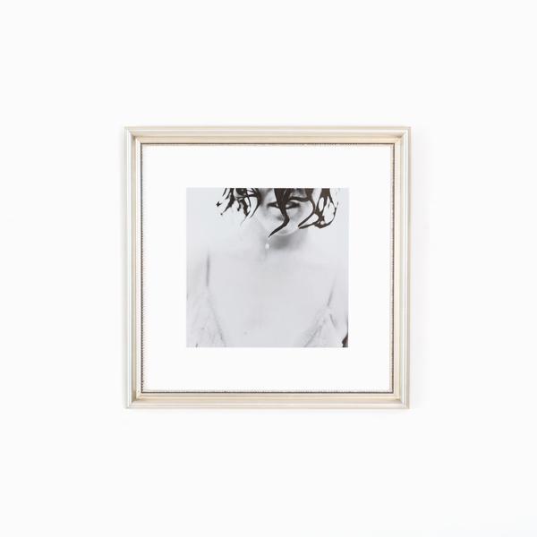 Buckhead Classic Silver Beaded Custom Frame | Framebridge