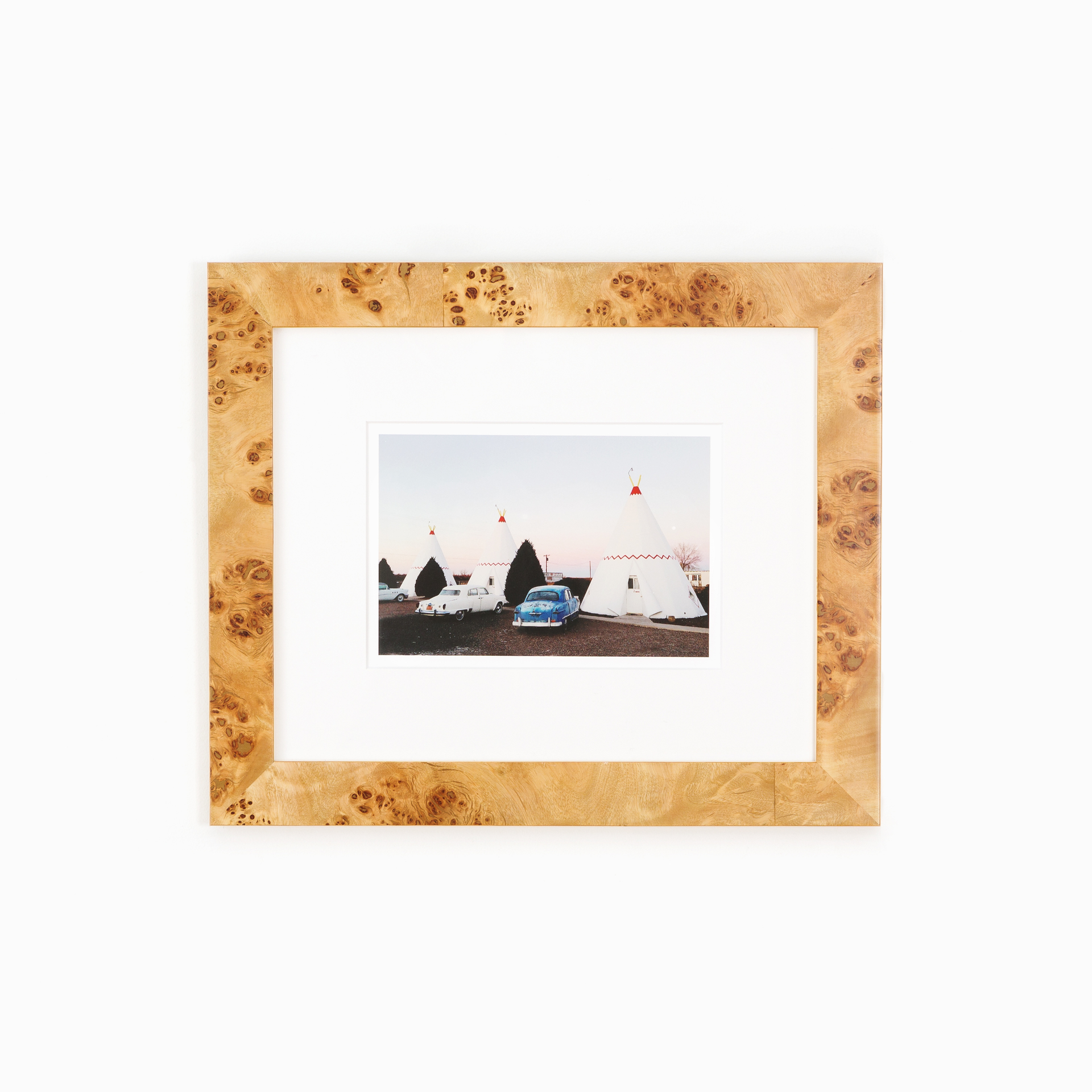 Cairo - Light Burl Wood Frame | Framebridge