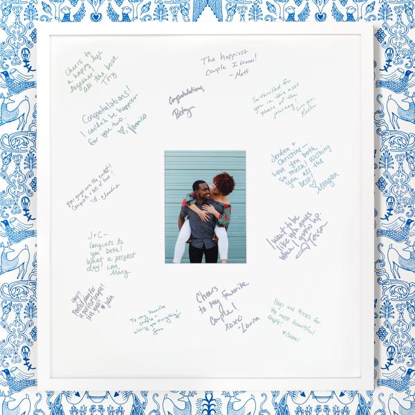 The Guest Book - 5 x 7 Frame | Framebridge
