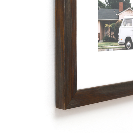 target collection espresso brown painted frame framebridge - Diploma Frames Target