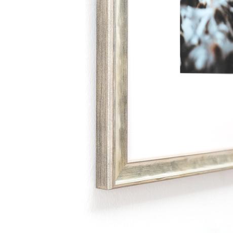 target collection pearlized silver frame framebridge - Diploma Frames Target