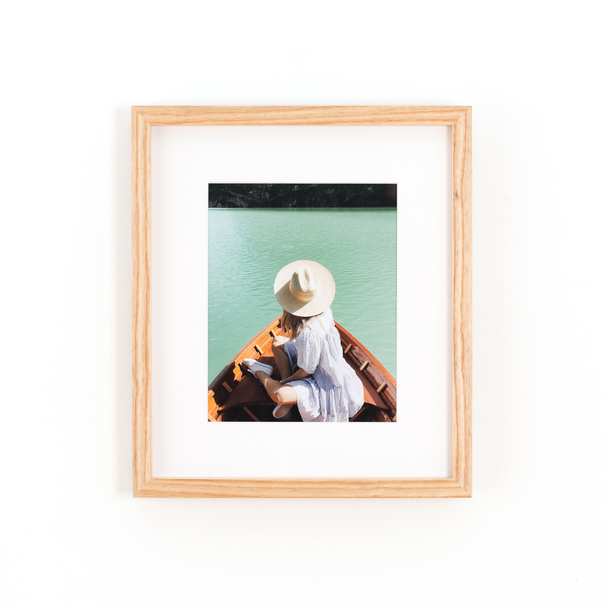 Solid Ash Wood Custom Frame | Framebridge