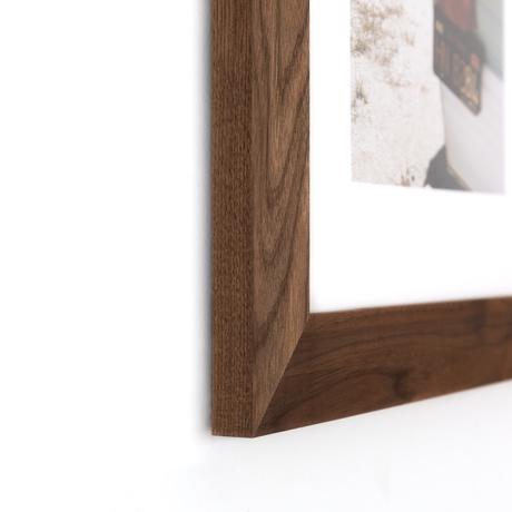 Wide Solid Walnut Wood Custom Frame Framebridge