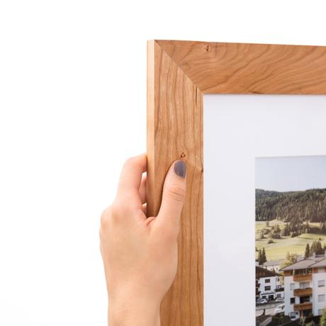 Wide Solid Cherry Wood Custom Frame Framebridge