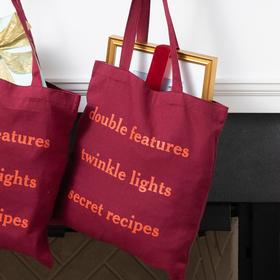 Framebridge Holiday Tote Bag