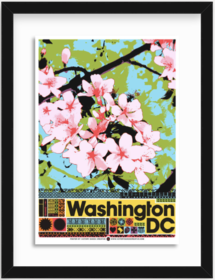 VDC Cherry Blossom Print - Mercer Slim