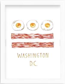 Bacon & Eggs Print - Irvine Slim