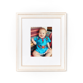 Montauk frame of cute baby