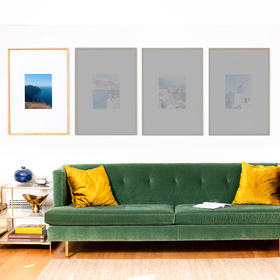 The Hardwoods Triptych: Single Frame