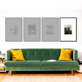 The Vertical Triptych: Single Frame